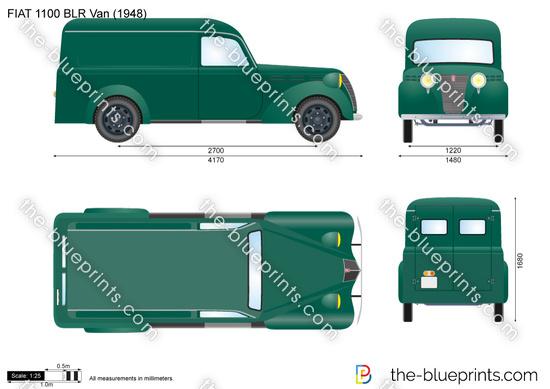 FIAT 1100 BLR Van