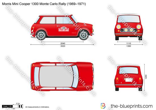 Morris Mini Cooper 1300 Monte Carlo Rally