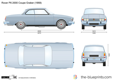 Rover P6 2000 Coupe Graber