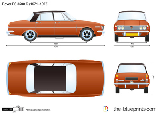 Rover P6 3500 S