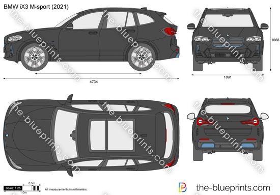 BMW iX3 M-sport