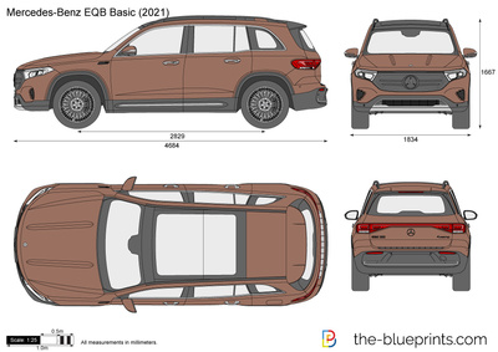 Mercedes-Benz EQB Basic