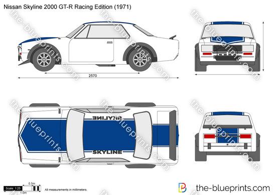 Nissan Skyline 2000 GT-R Racing Edition
